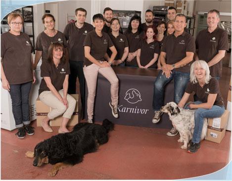 Das Team von Karnivor